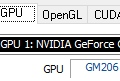 GPU Caps Viewer 1.38.2.1 supporta la GPU GeForce GTX 1060 6GB per notebook